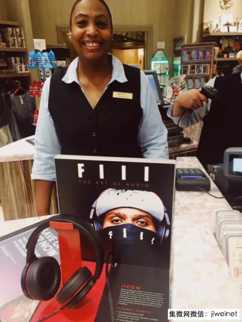 FIIL耳机北美市场布局 进驻欧美高端品牌店1