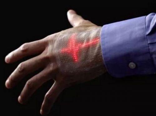 你敢穿吗?嵌有384枚超薄LED灯的智能皮肤0