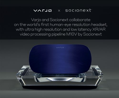 "Socionext与Varjo合作开发全球首款""人眼解析度""VR/XR头显0"