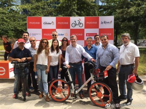 海外市场任摩拜狂 圣地亚哥旅游想骑就骑0