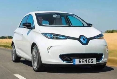 雷诺4级共享电动车 不用司机的自驾游0