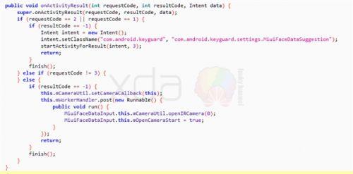 MIUI固件泄露小米7将采用刘海屏造型:红外人脸识别3