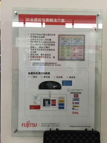 Fujitsu 慕尼黑上海电子展 发力汽车电子1