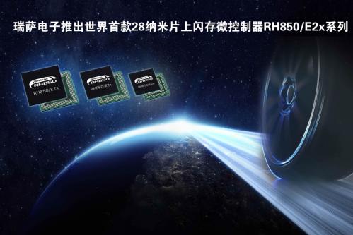 瑞萨电子推出全球首款28nm汽车级MCU0
