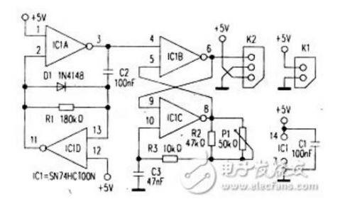 教你制作简单的伺服控制电路0