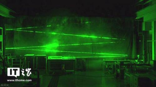 日本研发超高速相机 激光反射清晰可见1