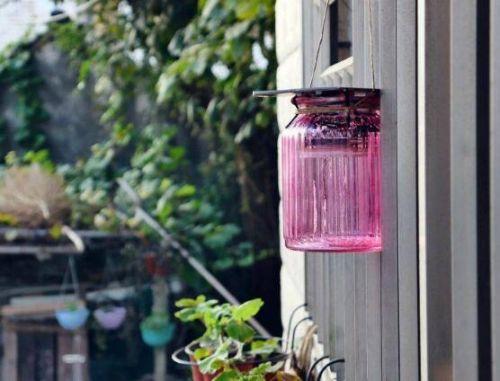 宜家庭院风 自制太阳能窗台灯 0
