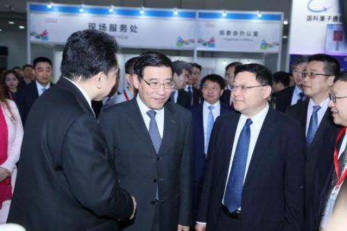 苗圩出席第六届中国电子信息博览会1