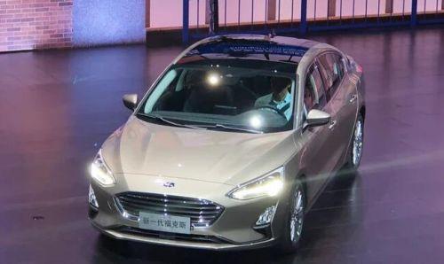 福克斯重庆全球首发 10万购置8AT合资车0