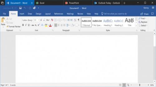 Win10新版本 Office支持Sets+新增流量统计1