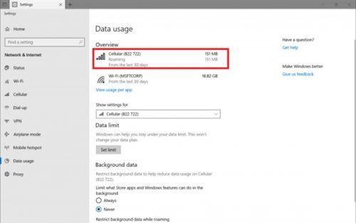 Win10新版本 Office支持Sets+新增流量统计2