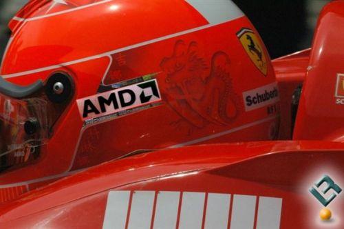 AMD雄起!时隔5年重新赞助法拉利F1车队2
