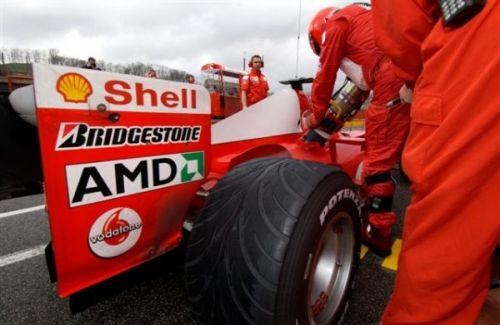 AMD雄起!时隔5年重新赞助法拉利F1车队1