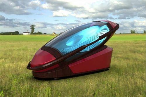 外国人真会玩 科幻3D打印安乐死仪器1