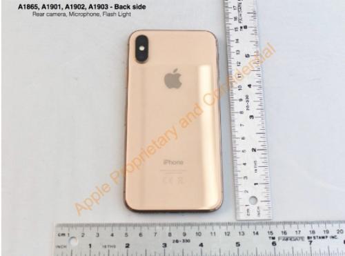FCC 文件证实 iPhone X 存在金色版本0
