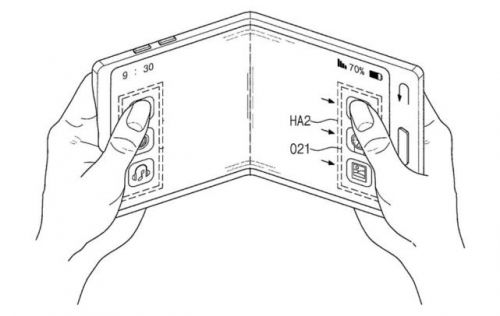 手机秒变iPad 三星可折叠智能机更多专利曝光0