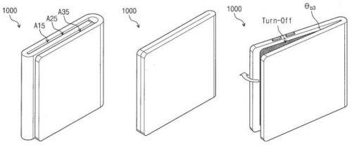 手机秒变iPad 三星可折叠智能机更多专利曝光2