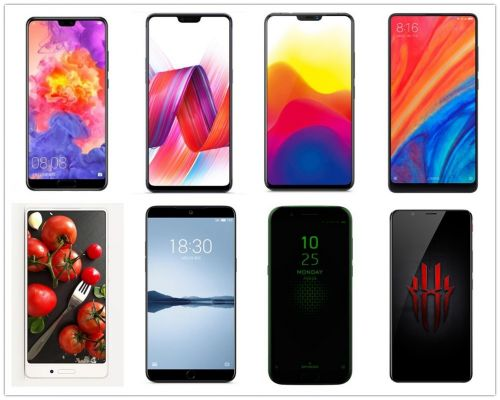2018国产手机横评:全面屏正当道 AI双摄成卖点1