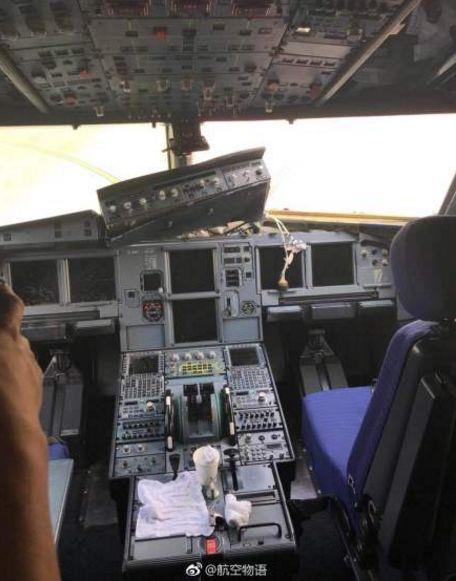 为机长点赞 川航客机档风玻璃为什么碎了?2