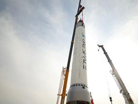 我国首枚民营自研商业火箭 重庆两江之星点火升空0