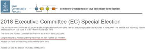 阿里成首个受邀参与Java全球标准制定的中国公司1