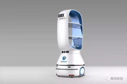 """酒店送物、餐厅传菜,这家公司要让更多岗位被""""机器人服务员""""替代1"""