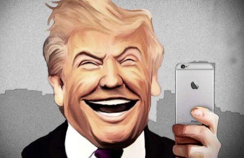 推特治国的特朗普用的是什么手机?0