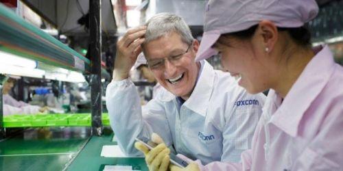 富士康美国工厂或为iPhone/Mac生产小型面板0
