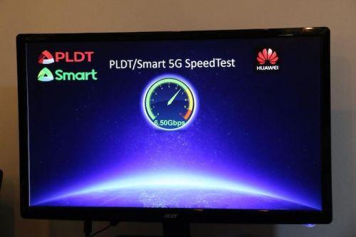 华为携Smart 5G测试实现6.5Gbps新突破0