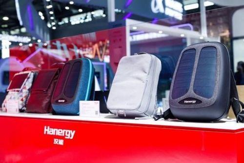 汉能携新品亮相2018 CESA:可随身充电的汉纸/汉包2