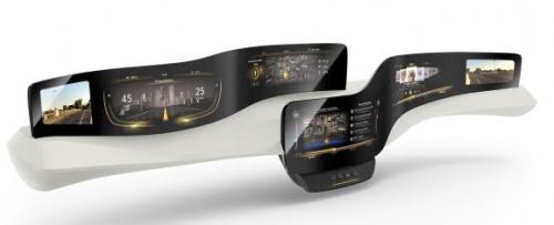 大陆推新型触感仪表盘 可减少驾驶员分心0