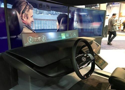 亚洲消费电子展开幕 起亚驾驶舱概念主控台亮相0