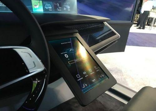 亚洲消费电子展开幕 起亚驾驶舱概念主控台亮相2