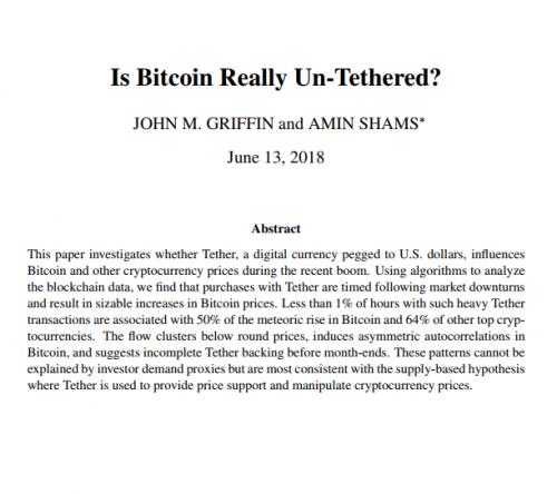 研究表明比特币的崛起可能与价格操纵有关0