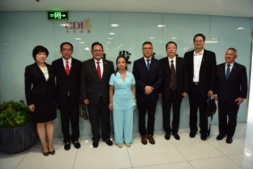 菲律宾前总统阿罗约及代表团一行到访中发控股集团3