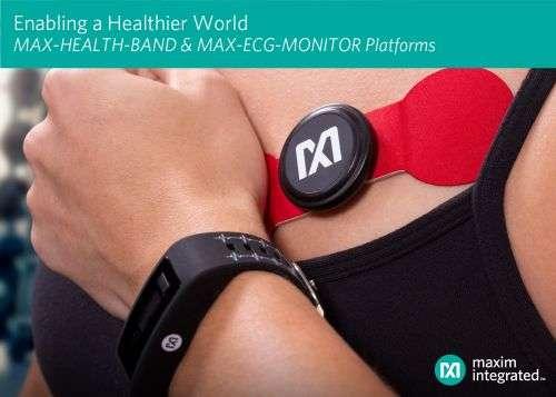 Maxim积极把握可穿戴平台发展良机,大力支持健康和健身应用0