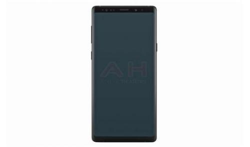 疑似三星Galaxy Note 9官方渲染图泄漏:全视曲面屏0
