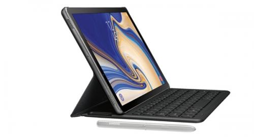 三星Galaxy Tab S4平板电脑曝光:配套键盘+多功能手写笔0