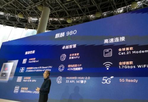 华为麒麟980国内正式发布!七大世界第一 AI新台阶25
