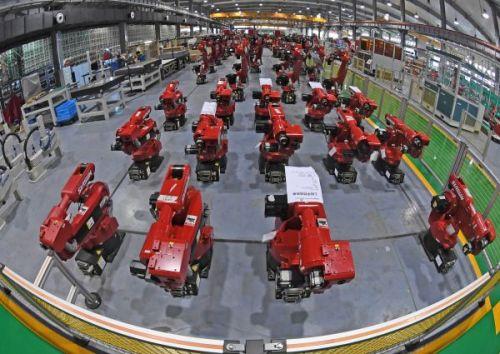 """日媒:中国成工业机器人主战场 中日企业对抗""""厮杀""""0"""
