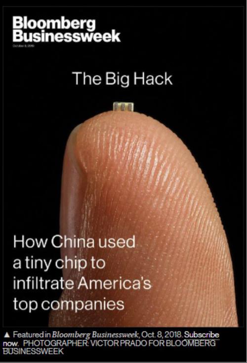 """彭博社指控中国使用""""逆天黑科技"""" 真相令人笑掉大牙1"""