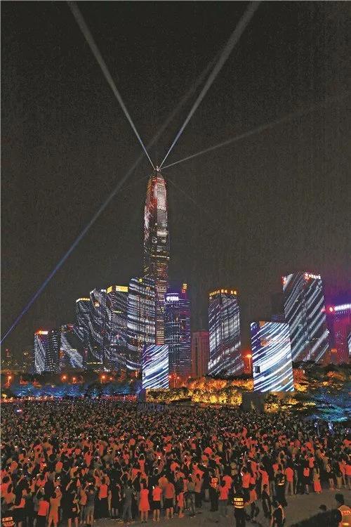 超百万人次观赏,深圳灯光秀下了多大成本?6