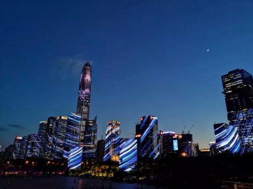 超百万人次观赏,深圳灯光秀下了多大成本?3