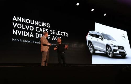 沃尔沃宣布下一代汽车将采用Nvidia的自动驾驶汽车平台0