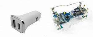品佳推出Richtek USB智能功率分配及Type-C PD车载充电器解决方案1