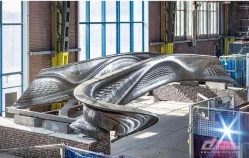 世界第一座3D打印钢桥将亮相荷兰设计周0