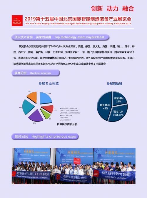 2019第十五届中国北京国际智能制造装备产业展览会3