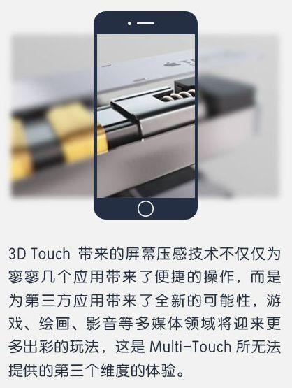 浅析3D Touch压力感应控技术16