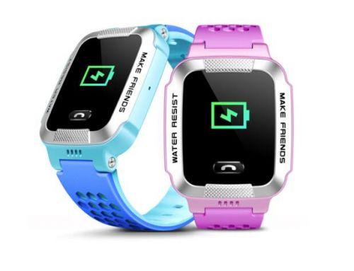 寒假过完了新学期开学 防水GPS儿童智能电话手表2
