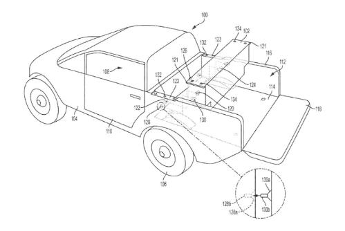 """Rivian为R1T电动皮卡的""""可拆卸辅助电池""""申请专利0"""
